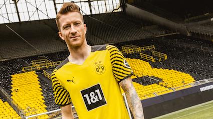 Puma e Borussia Dortmund svelano la nuova maglia home 2021-2022