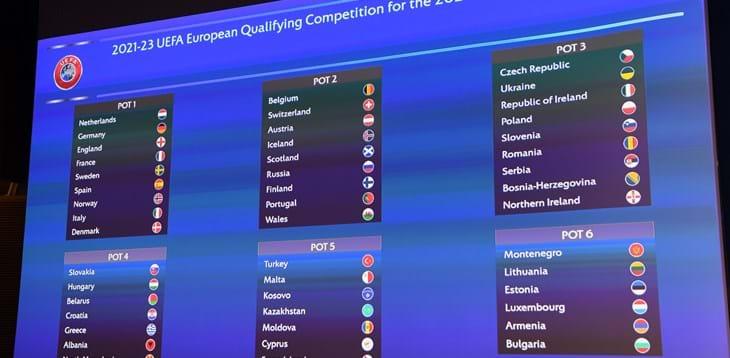 Qualificazioni mondiali 2023: Svizzera, Romania, Croazia, Moldova e Lituania le avversarie dell'Italia