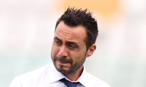 Benevento: esonerato Baroni, squadra a De Zerbi