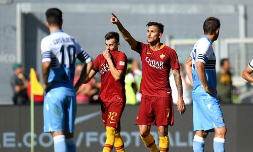 Serie A: alla Roma il derby, Lazio ko 3-1