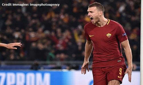 Roma, Dzeko in dubbio per il Real Madrid
