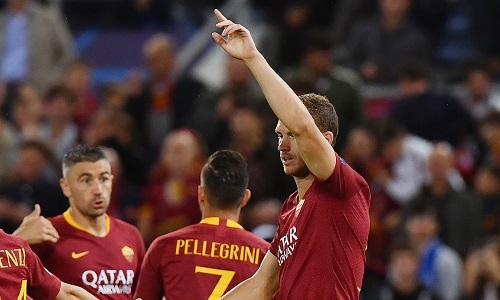 Champions League: la Roma dà spettacolo, 5-0 al Viktoria Plzen