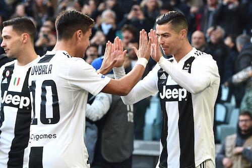 Serie A, Juventus-Sampdoria 2-1. Due lampi Ronaldo stendono Giampaolo