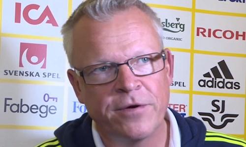 Svezia, il ct Andersson: