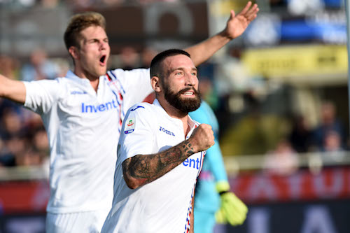 Serie A, Atalanta-Sampdoria 0-1. Gasp, ora è crisi