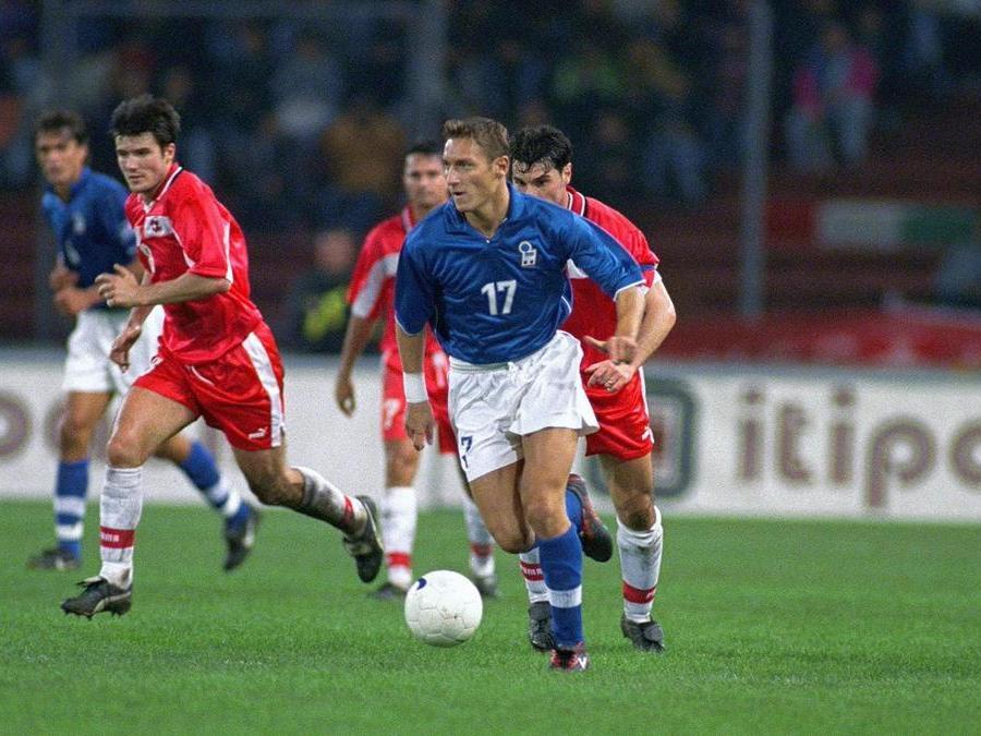 10 ottobre 1998: la prima di Francesco Totti in Nazionale