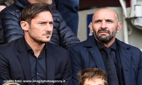 Roma, primo derby senza Totti: