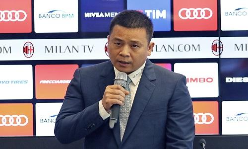 Milan, è tornato Yonghong Li: