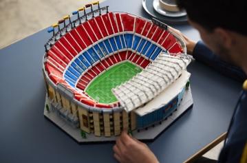 LEGO presenta il nuovo set dedicato all'iconico stadio Camp Nou