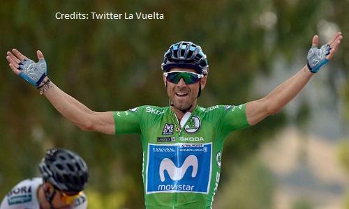 Vuelta 2018, 8a tappa: Valverde fa il bis sullo strappo di Almaden, battuto Sagan