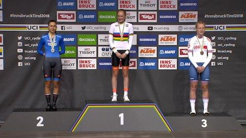Mondiali ciclismo, Alessio d'argento nella crono Juniores