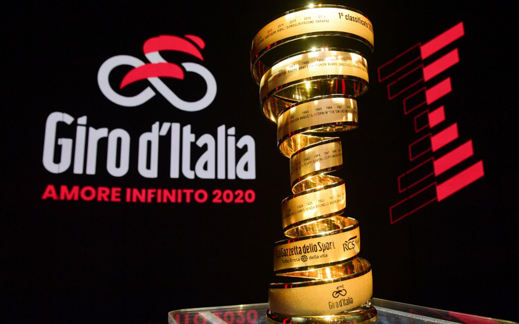 Oggi doveva cominciare il Giro d'Italia...