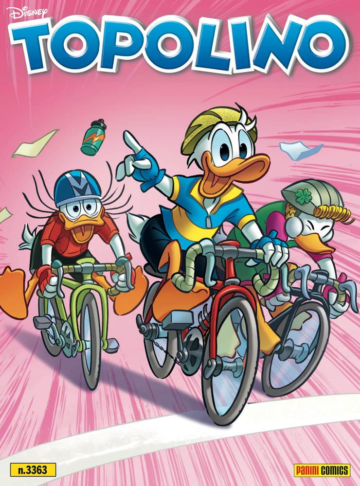Giro d'Italia su Topolino! Da oggi in edicola