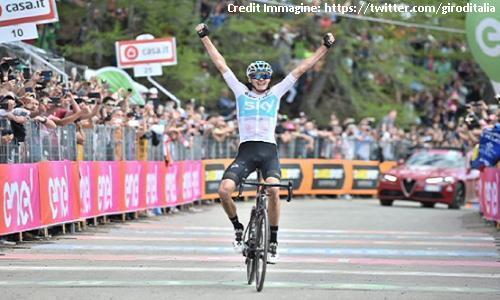 Giro d'Italia, 19a tappa: Froome da urlo, vittoria e maglia rosa
