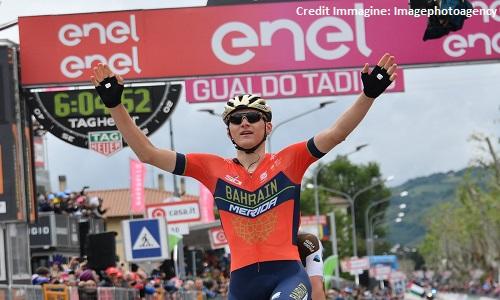 Giro d'Italia 2018, 10a tappa: Mohoric anticipa Denz, che crollo di Chaves