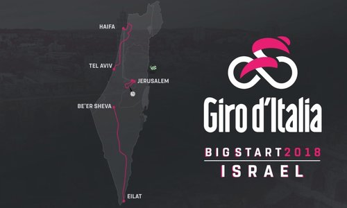 Giro 2018, la minaccia di Israele: