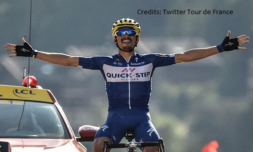 Ciclismo, Itzulia: Max Schachmann vince la crono d'apertura. Quarto Alaphilippe