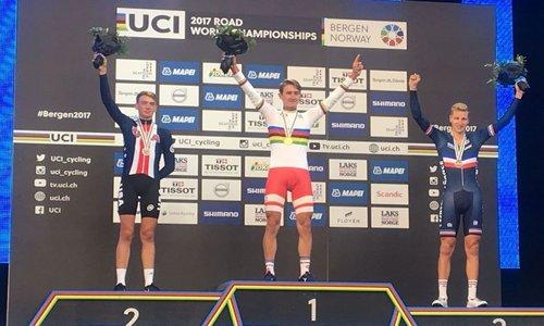 Mondiali di ciclismo: Mikkel Bjerg re della cronometro Under 23