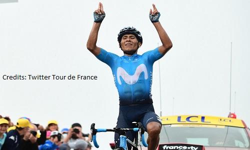 Ciclismo, Tour de France 219: Quintana vince a Valloire. Alaphilippe sempre in maglia gialla