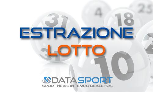 Estrazione del Lotto di martedì 14 gennaio 2020: i numeri vincenti