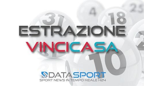 Estrazione del Vincicasa di giovedì 15 agosto 2019: i numeri vincenti. Live