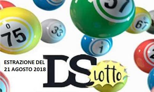 Estrazioni del Lotto di martedì 21 agosto 2018 e Superenalotto: combinazione e jackpot. Live streaming Video
