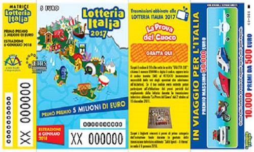 Lotteria Italia, 6 gennaio 2018: tutti i biglietti vincenti in diretta. Live