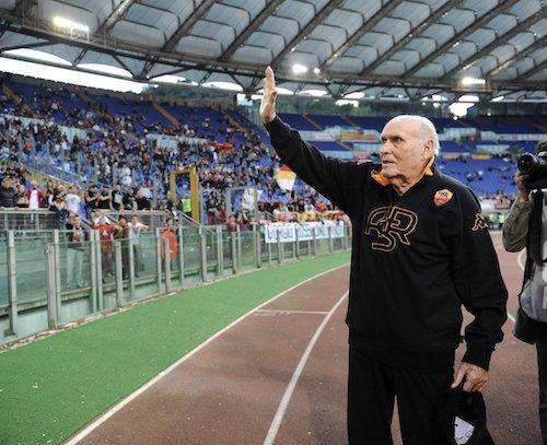 Roma in lutto: si è spento Giorgio Rossi, massaggiatore del club per 55 anni