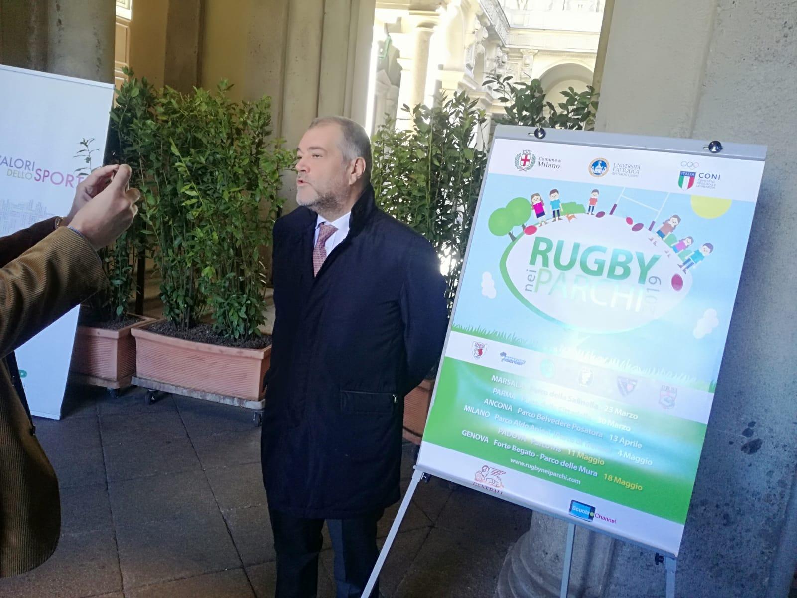 Rugby, tutto pronto per l'ottava edizione di Rugby nei Parchi con 6 città coinvolte