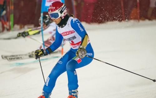 Sci, tripletta Italia a Bansko: vince Curtoni, Bassino e Brignone sul podio