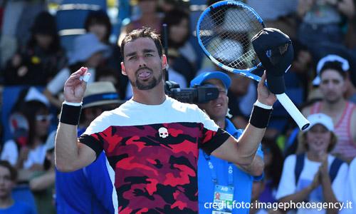 Tennis: Fognini, sfuma la finale a Stoccolma