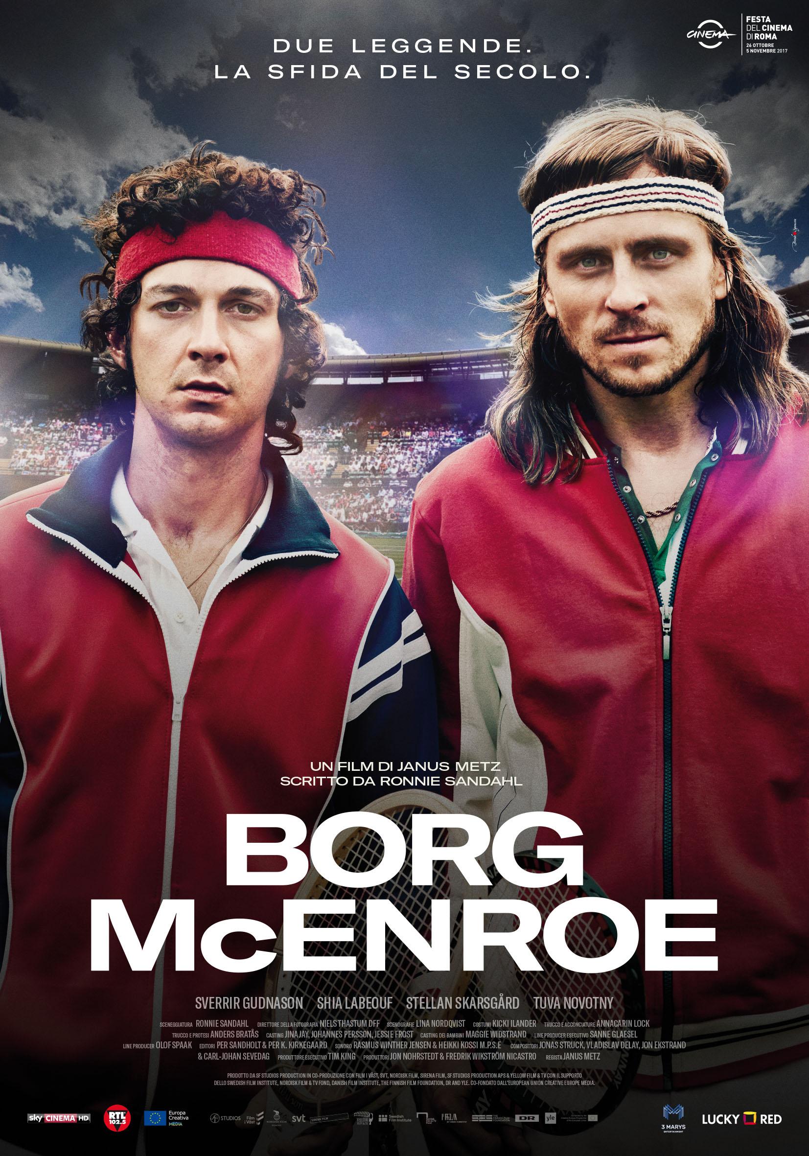 Sport in TV - Borg-McEnroe su Sky: presentazione e dettagli