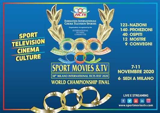 """SPORT MOVIES & TV 2020"": 140 film online free. Ecco il programma"