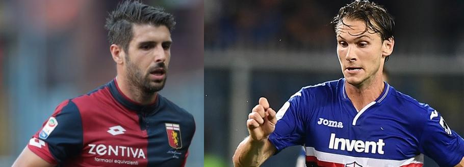 Ekdal e Veloso: nuovo derby benefico a Genova