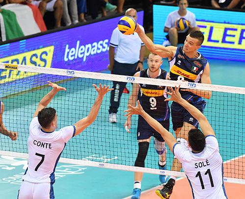 Mondiale volley, tris Italia: battuta anche l'Argentina di Velasco