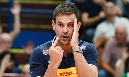 Italvolley, Blengini confermato come ct