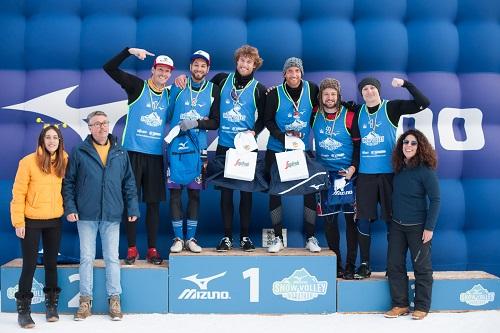Mizuno Snow Volley Marathon, i risultati della prima edizione