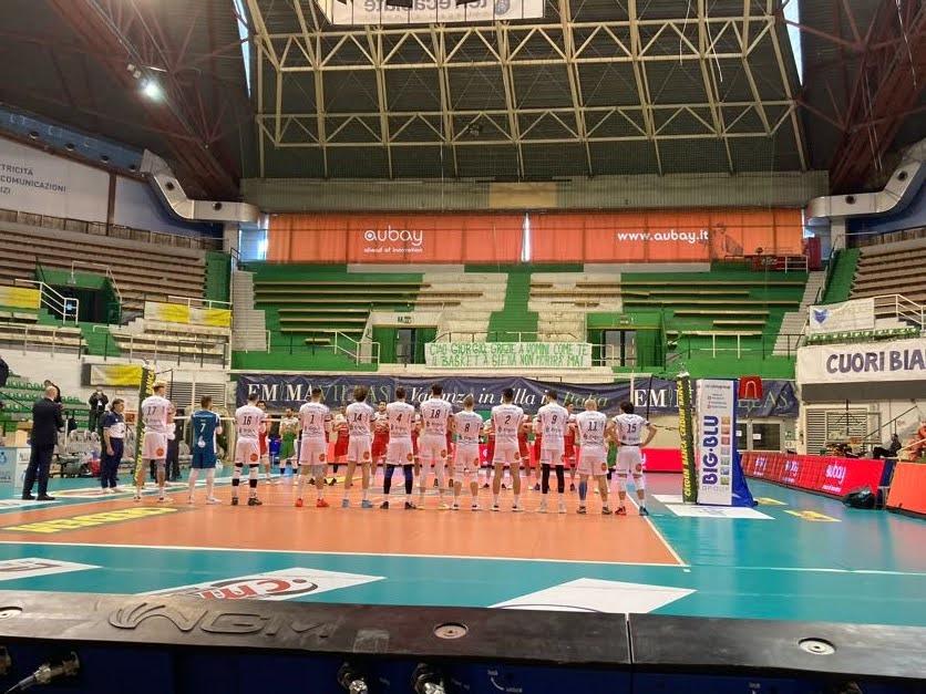Volley - Santa Croce interrompe la striscia positiva di Siena