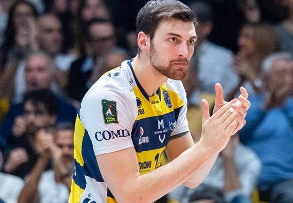 Volley, colpo Lube Civitanova: arriva Simone Anzani