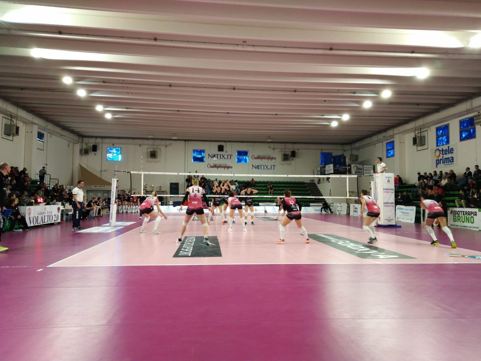 Volley, annuncio Volalto: annullato il contratto di Francesca Marcon